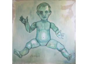 Ohne Titel |Puppe grün